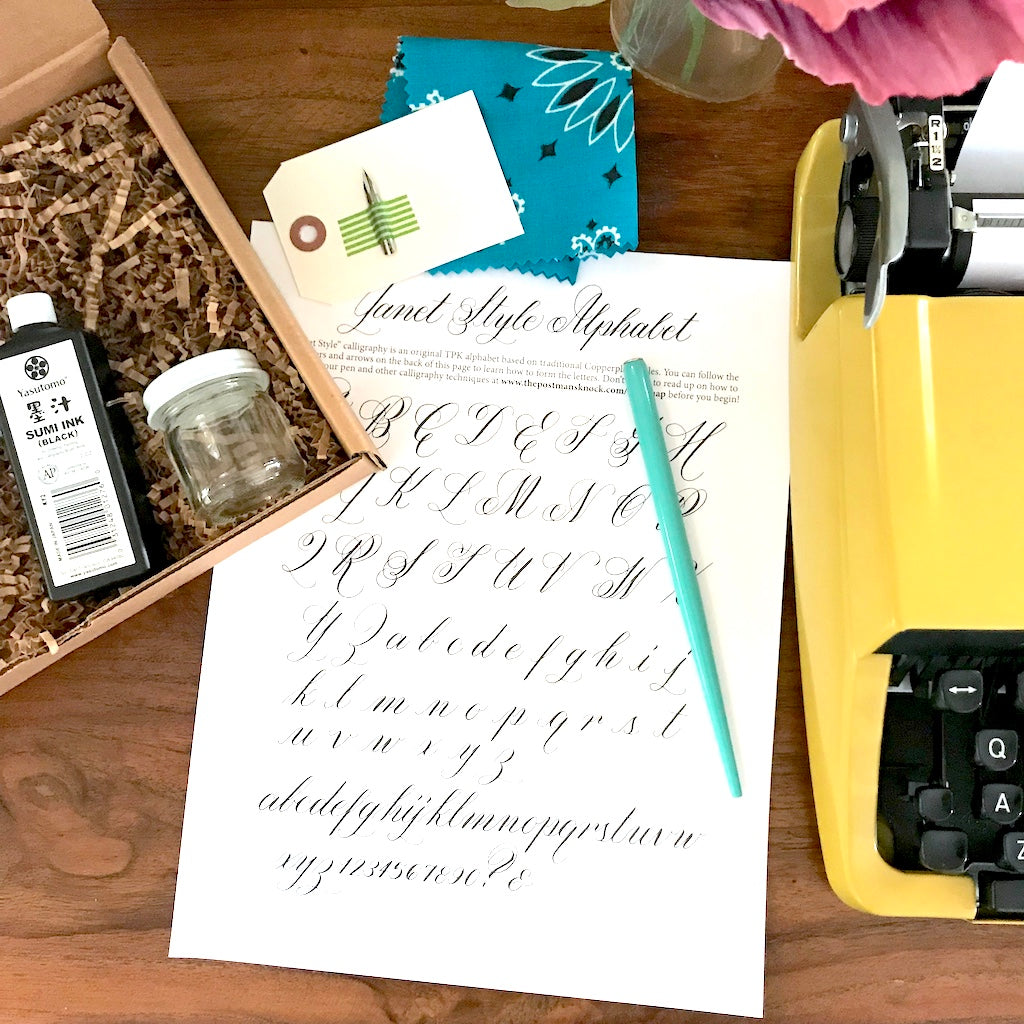 Celebrating a Year of Calligraphy Kits