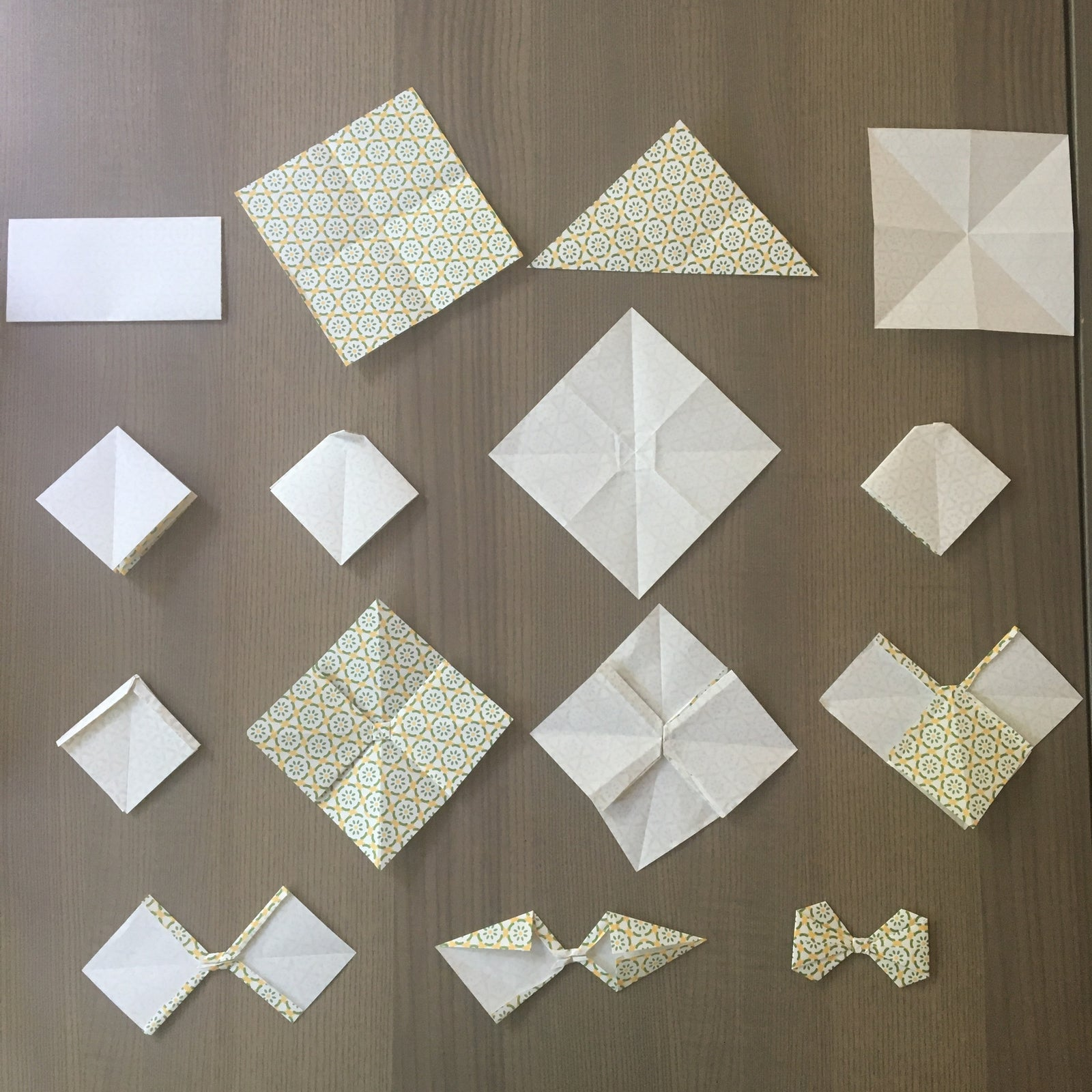 HOW TO MAKE AN ORIGAMI PAPER BOW. — Gathering Beauty | 1600x1600