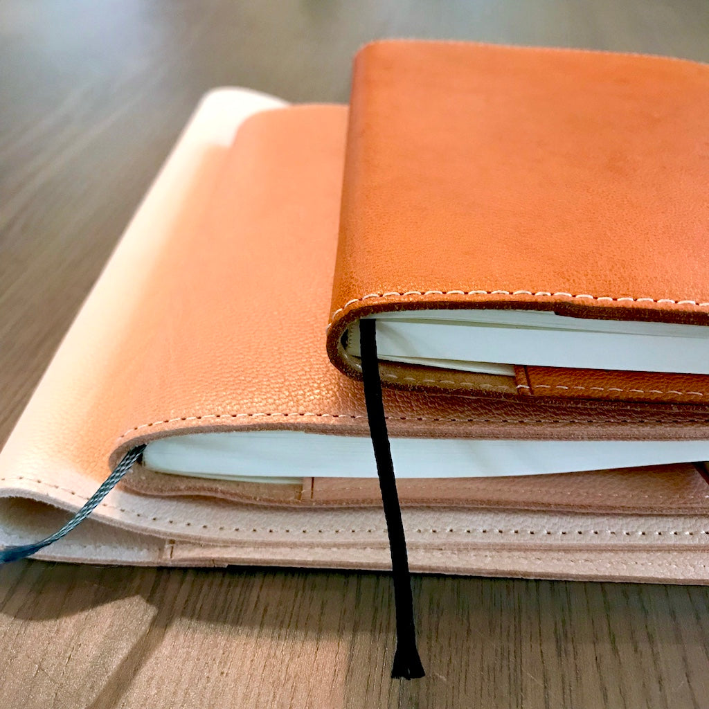 How to Age Your Midori Diary (MD) Goat Leather Cover - Part II