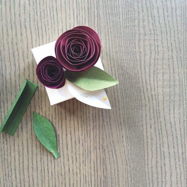 Let's Make: A Paper Flower Gift Box