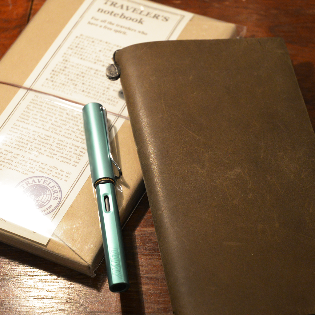 How to Join Several Refills in a Midori Traveler's Notebook