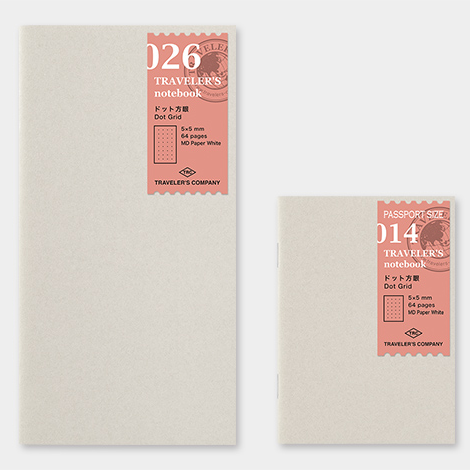 TRAVELER'S notebook dot grid insert