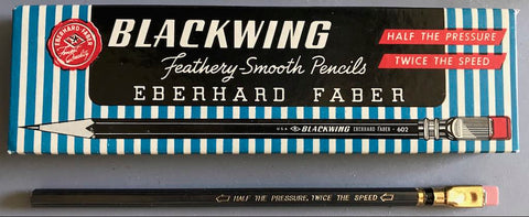 One of the original Blackwing 602 pencils
