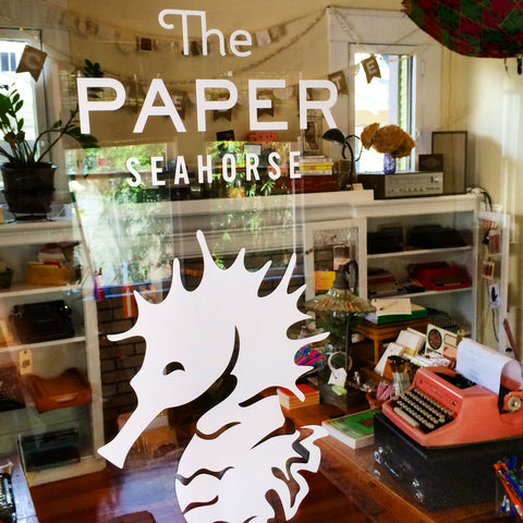 The Paper Seahorse magical writers paradise