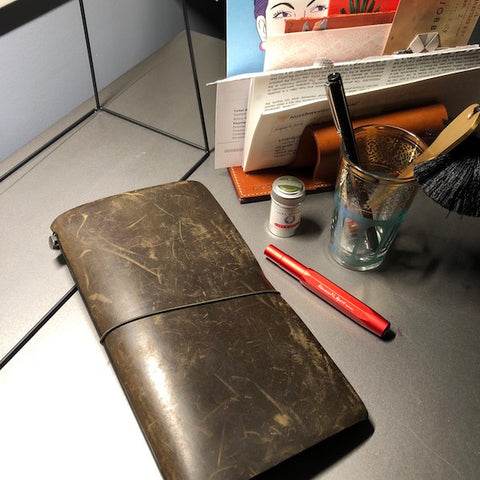 how i use my travelers notebook