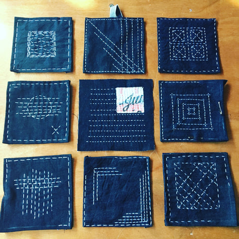 sashiko japanese mending