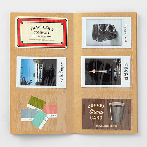 TRAVELER'S COMPANY card file insert