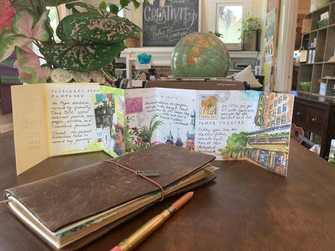 postcards from tampa bay travelers company partner shop