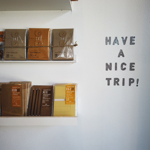 Have a Nice Trip! TRAVELER'S COMPANY pop-up in Ybor City