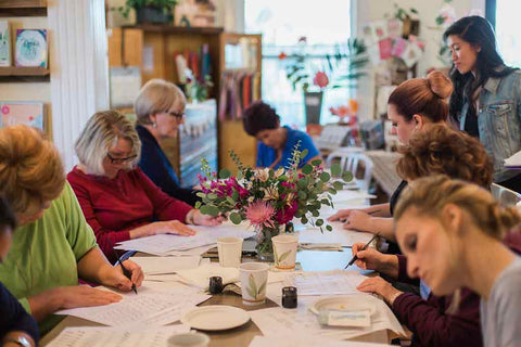 Creative Classes at The Paper Seahorse for Mindfulness and Creativity