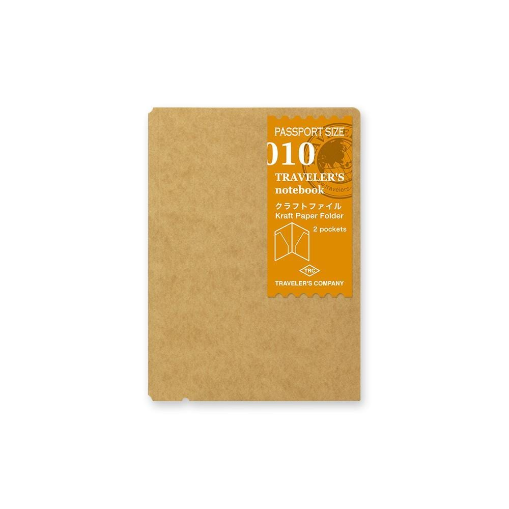 010 Traveler's Notebook Passport  - Refill - Kraft File