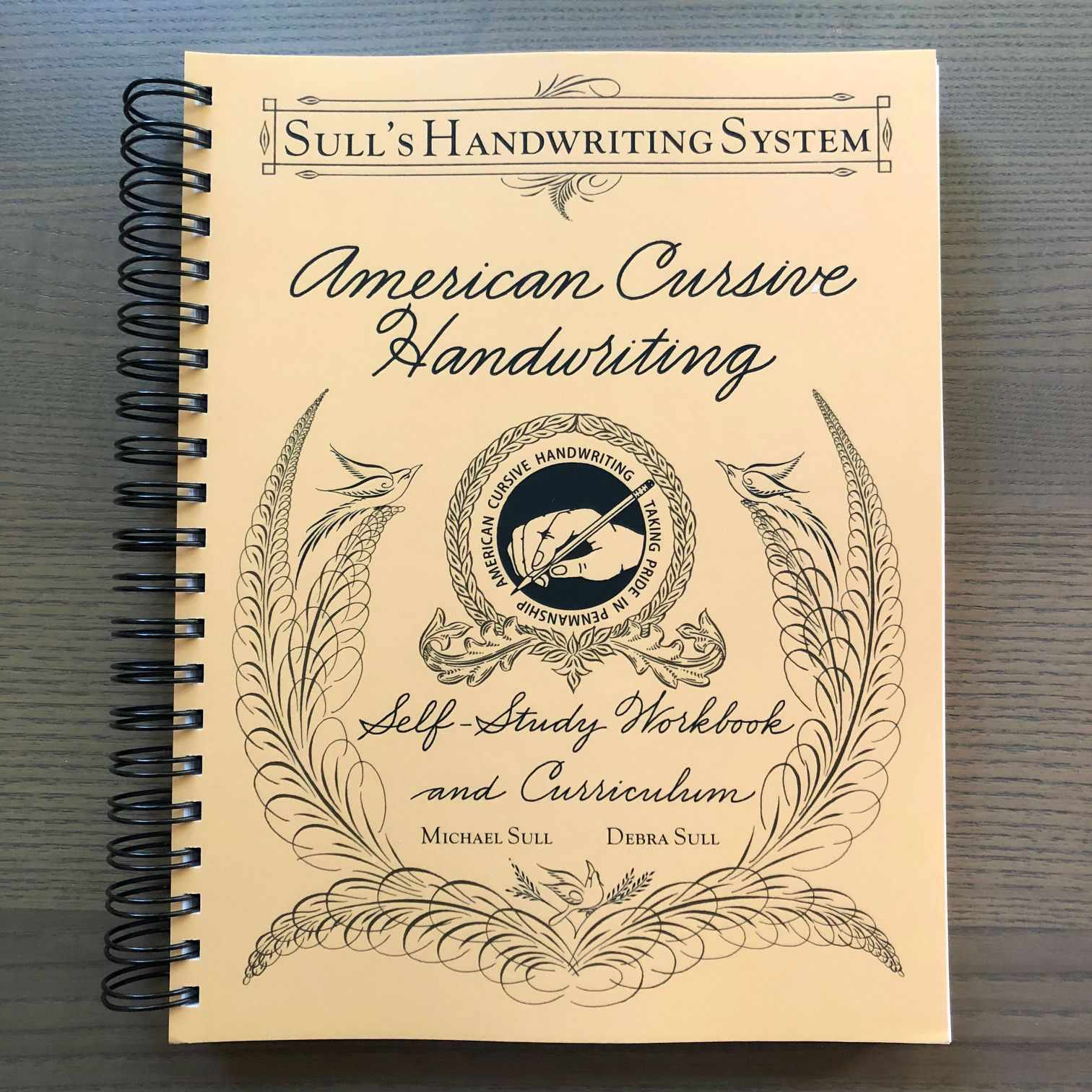American Cursive Handwriting Workbook-Books-Michael Sull-Spiral bound-The Paper Seahorse