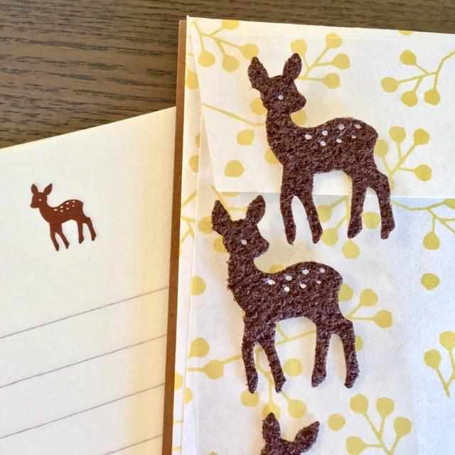 Deer Letter Paper & Envelopes Stationery