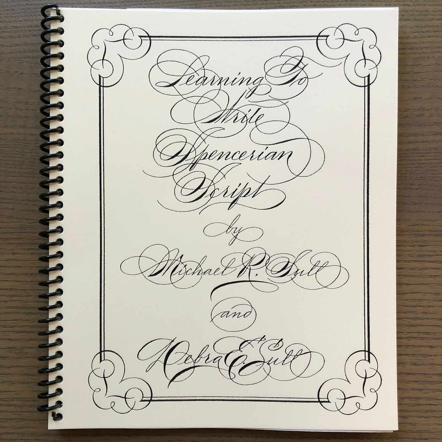 Learning to Write Spencerian Script Book-Books-John Neal Books-The Paper Seahorse