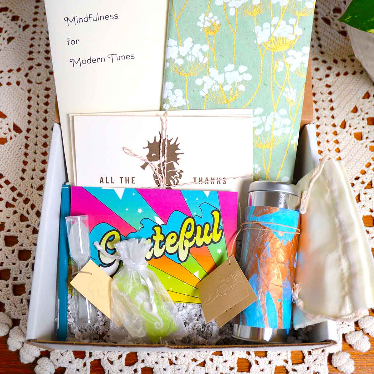 Little Box Of Calm - A Paper Seahorse Wellness Box