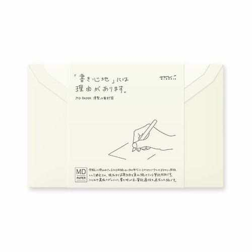 MD Envelopes (Pack of 8)-Envelope-Midori-The Paper Seahorse