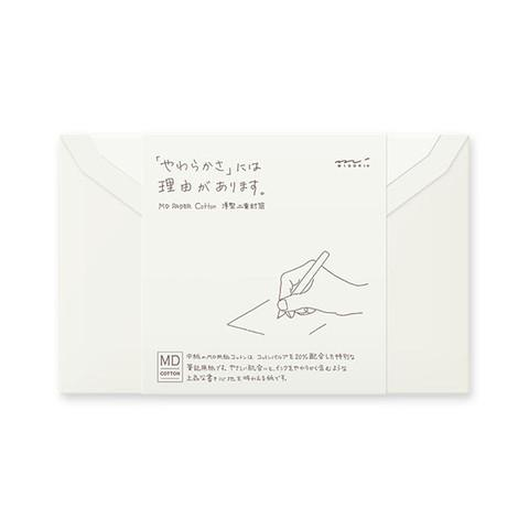 Midori MD Envelopes - Cotton (Pack of 8)