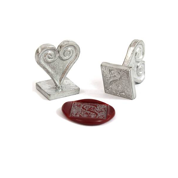 Ornate Alphabet Wax Seal - Individual Letters