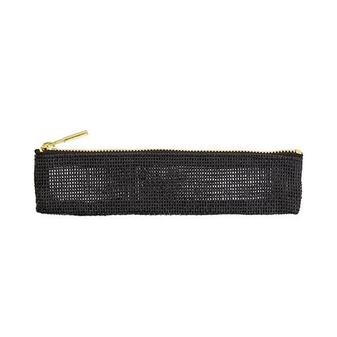 Pulp Storage Pen Case - Paper Cord Black