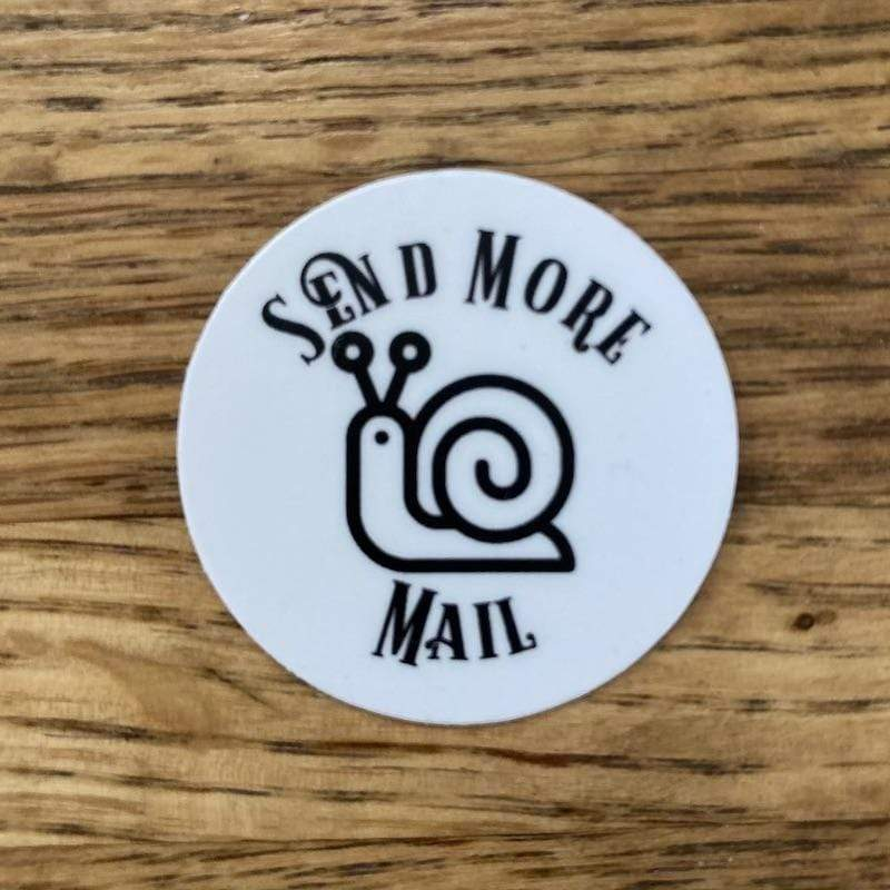 Send More Snail Sticker