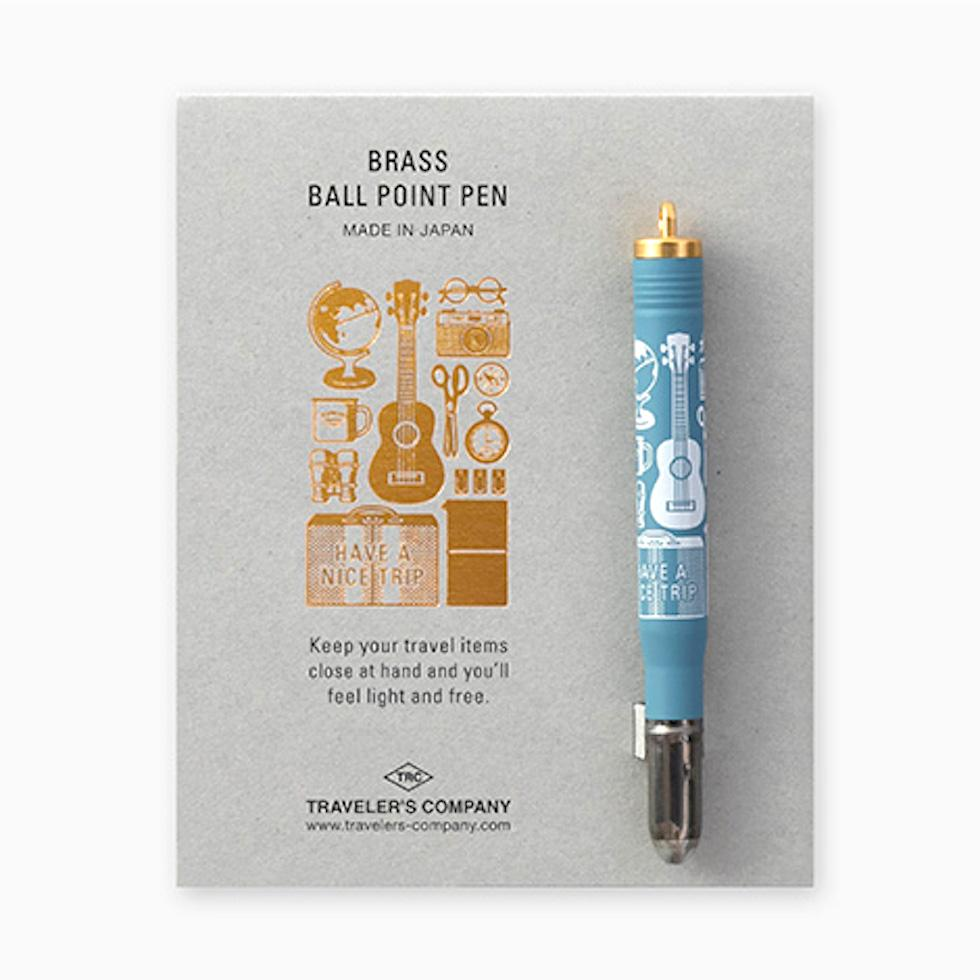 TRAVELER'S COMPANY Limited Edition Brass Ballpoint Pen