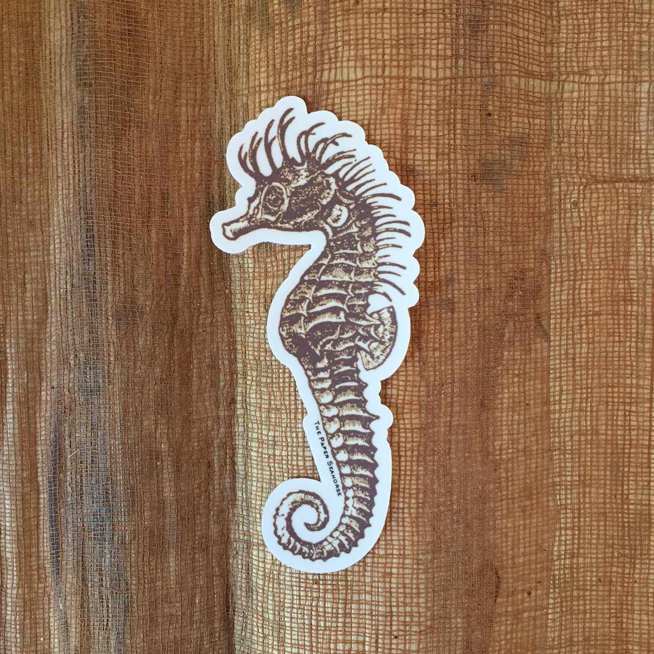 Paper Seahorse Sticker-Accessories-The Paper Seahorse-The Paper Seahorse