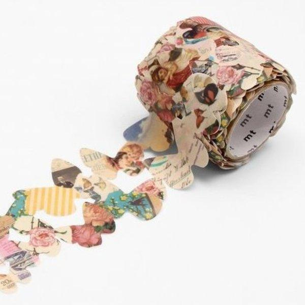 Washi Tape MT Brand - Retro Butterflies