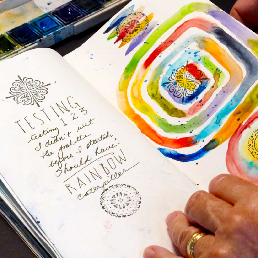Watercolor Journaling 101 - Online Analog Academy Workshop