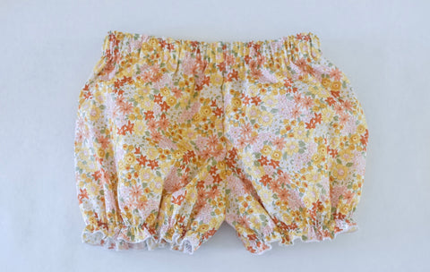 RTS Garden floral bloomers size 4T
