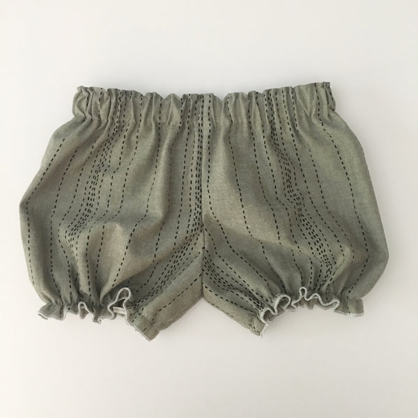 Grey/Green Chambray Bloomers