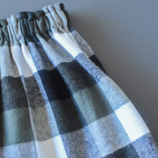 Buffalo Plaid Flannel Skirt
