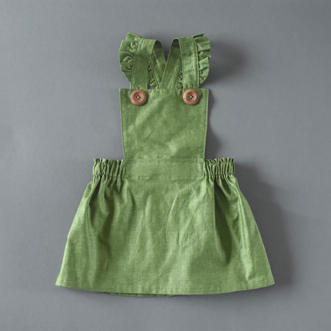 Green Holiday Pinafore