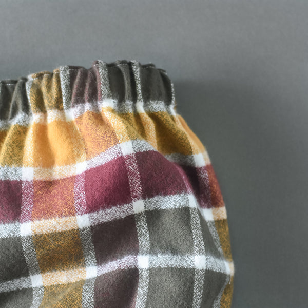 Cider Flannel Plaid bloomers