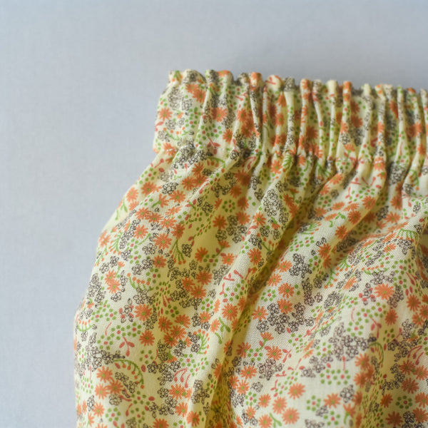 Fall Cream Vintage Floral bloomers