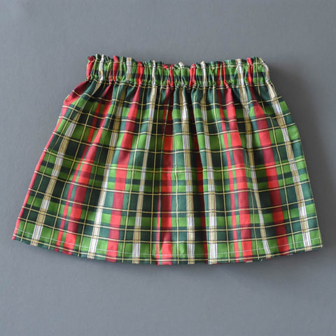 Vintage Plaid Holiday skirt