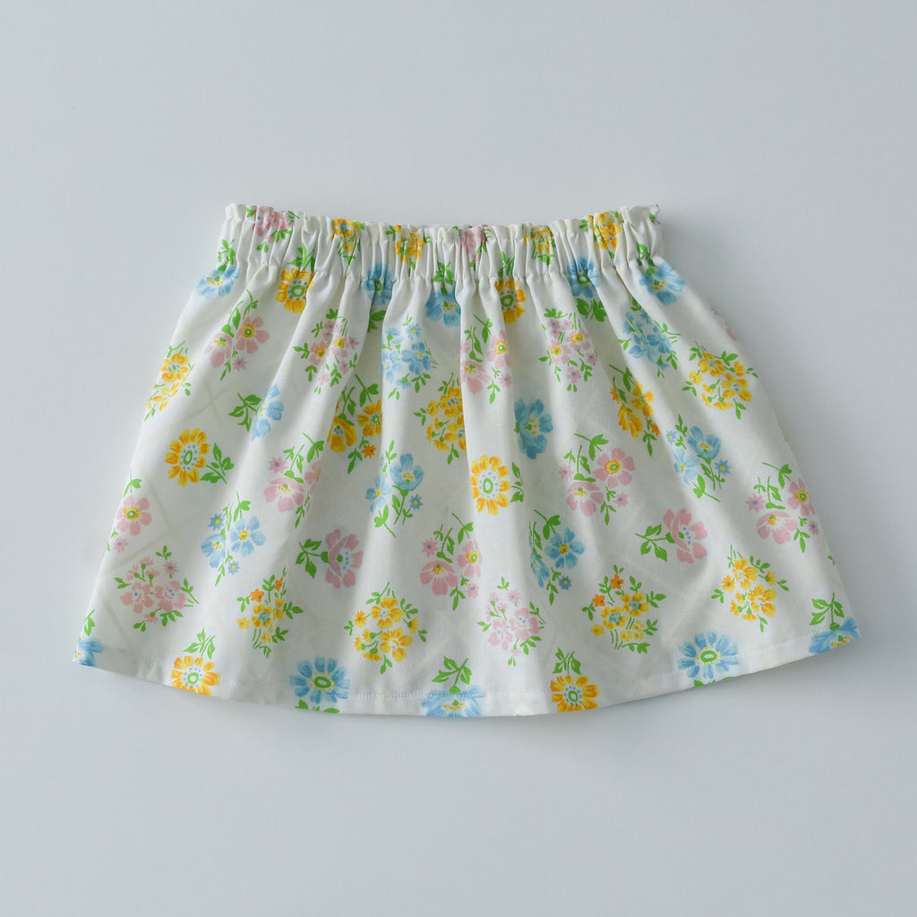 Vintage Floral bouquet skirt