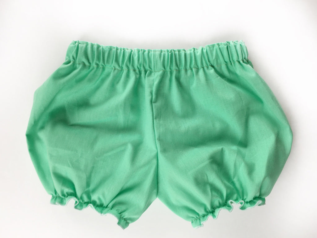 Mint Green Cotton Bloomers