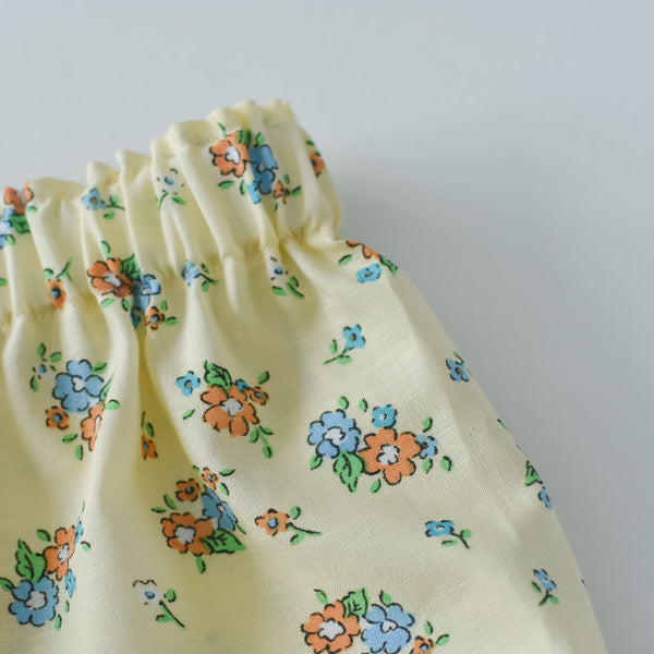 Butter Yellow floral bloomers