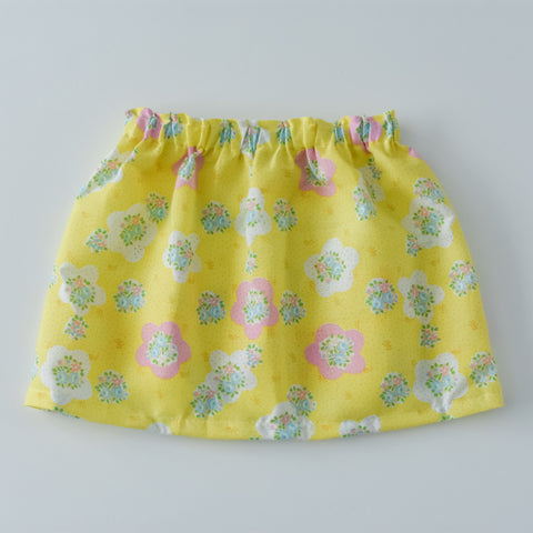Vintage Yellow Large floral