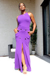 Jace Purple Maxi Skirt