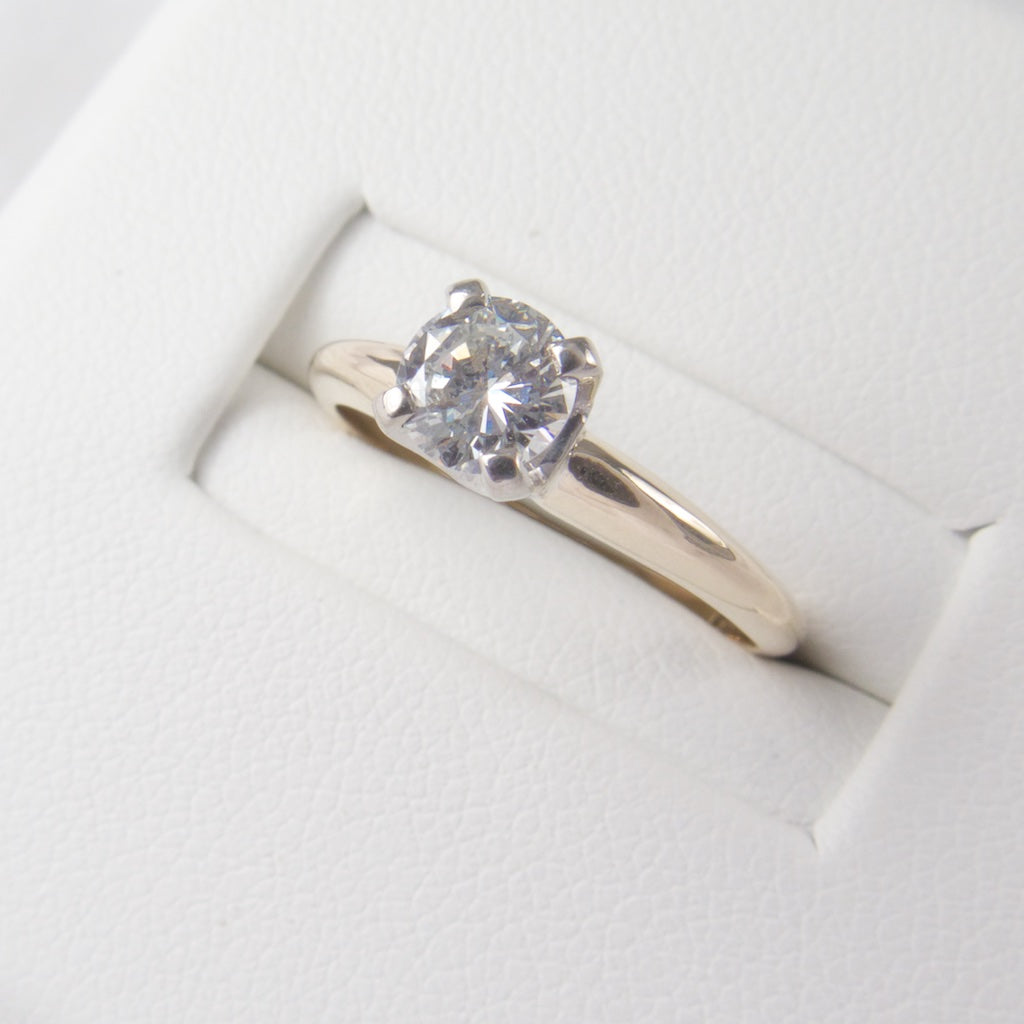 Diamond Solitaire Ring 1/2 ct