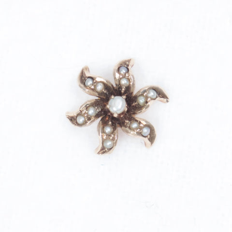 Pearl Flower Stickpin