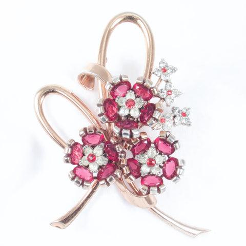 Pennino Flower Brooch