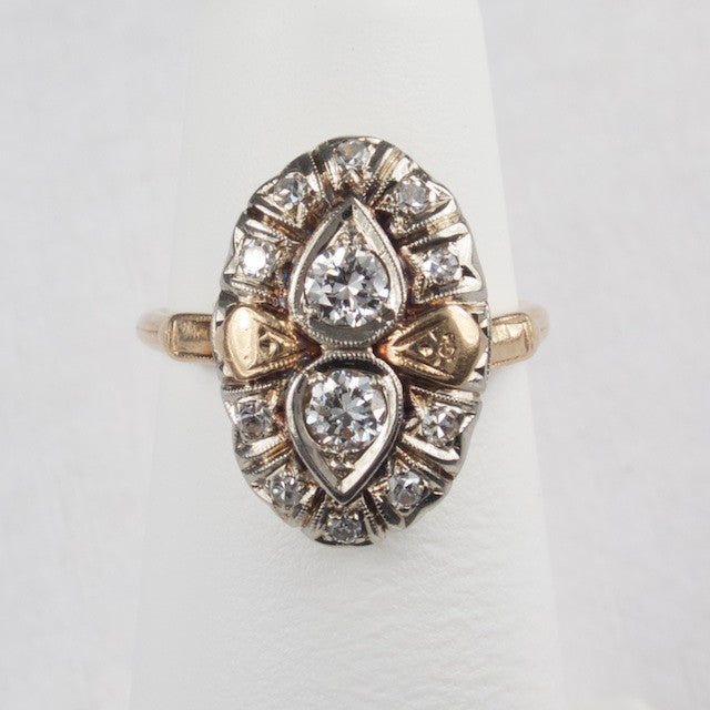 1940s Diamond Ring