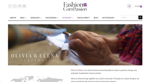 Fashion Compassion UK OLIVIA & ELENA BAGS Online Retailer