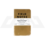 Field Notes - Original Kraft Mixed Paper 3-Pack
