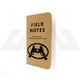Field Notes - Kraft Original Stamped with CMC Logo - Single