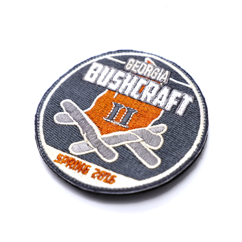 Georgia Bushcraft Spring 2016 Embroidered Patch