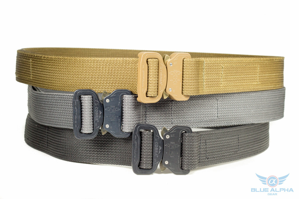"Blue Alpha Gear | 1.5"" EDC Belt"
