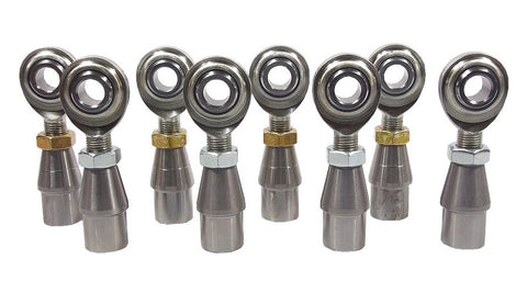 1/2 x 1/2-20 Economy 4 Link Kit With Weld-In Bungs .083 & Jam Nuts